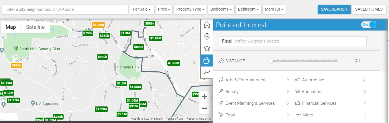 Real Estate Map API from Home Junction