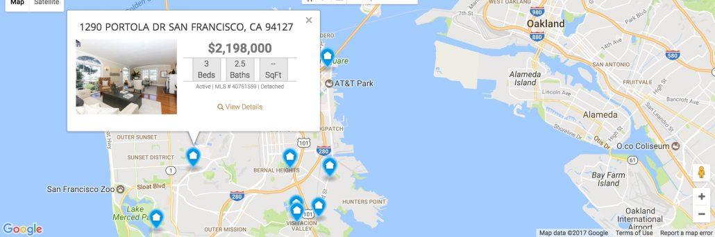 IDX Map Search