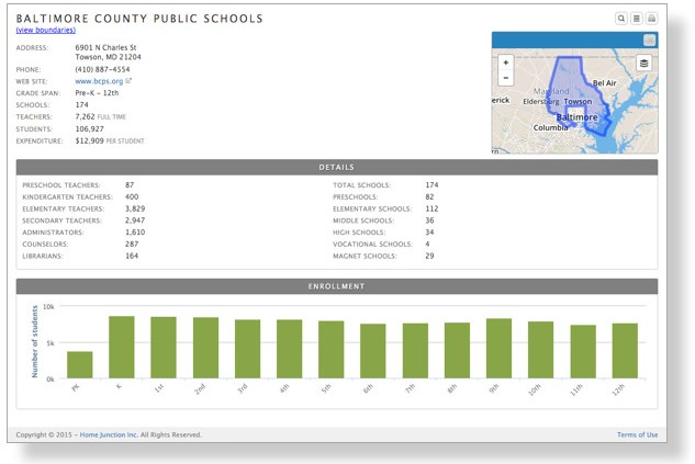 school district data api