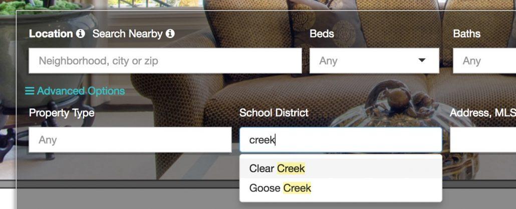 School District Data Search